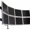 Thumbnail image for Paramount Multi-Monitor Rack Houses 8 Monitors, is Overkill