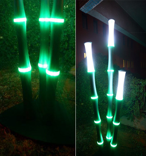 Bamboo LED Light