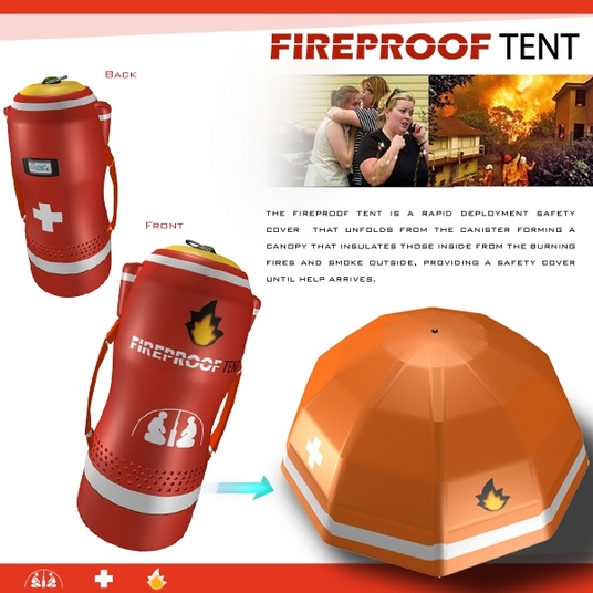 sc 1 st  Swongled & Fireproof Tent is Nifty Not for Camping