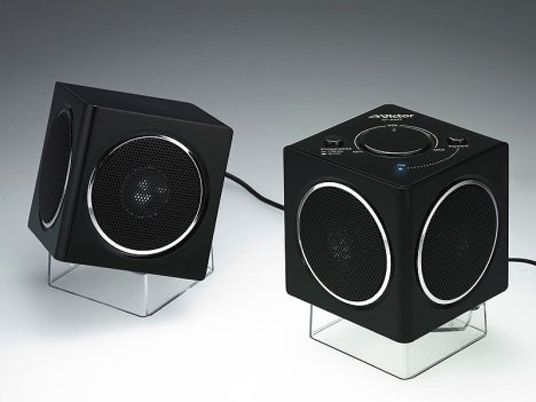 Post image for JVC's Surround Sound Cubes Make Noise