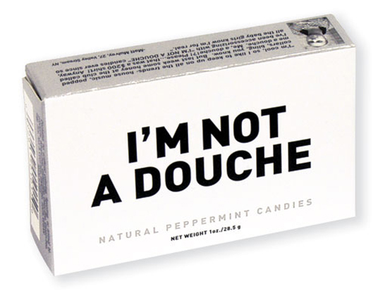 I am not a douche