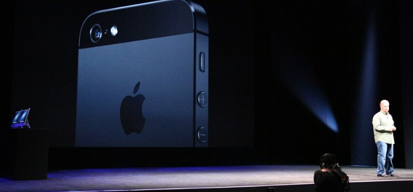 iPhone 5 announced
